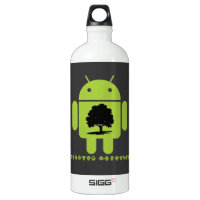Cambrian Explosion (Oak Tree On Bug Droid) SIGG Traveler 1.0L Water Bottle