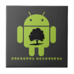 Cambrian Explosion (Oak Tree On Bug Droid) Tile