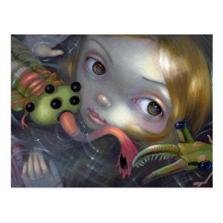 """Cambrian Mermaid"" Postcard"