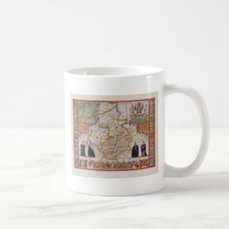 Cambridge Antique Map Coffee Mug