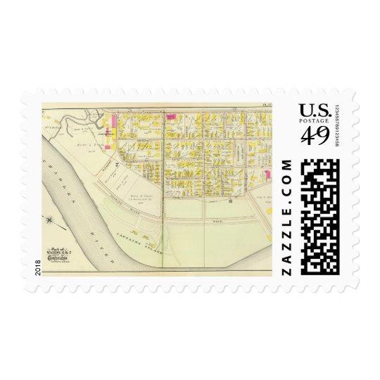 Cambridge Atlas 10 Stamp