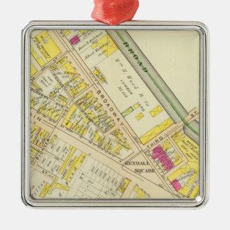 Cambridge Atlas 12 Metal Ornament