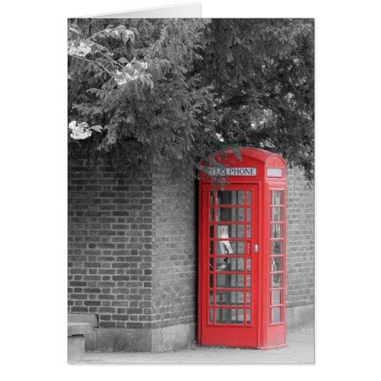 Cambridge Callbox Greeting Card