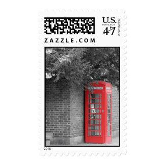 Cambridge Callbox Postage Stamp