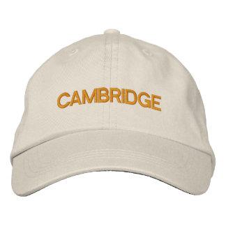 Cambridge Cap Embroidered Baseball Cap