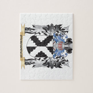 Cambridge Coat of Arms - Family Crest Puzzles