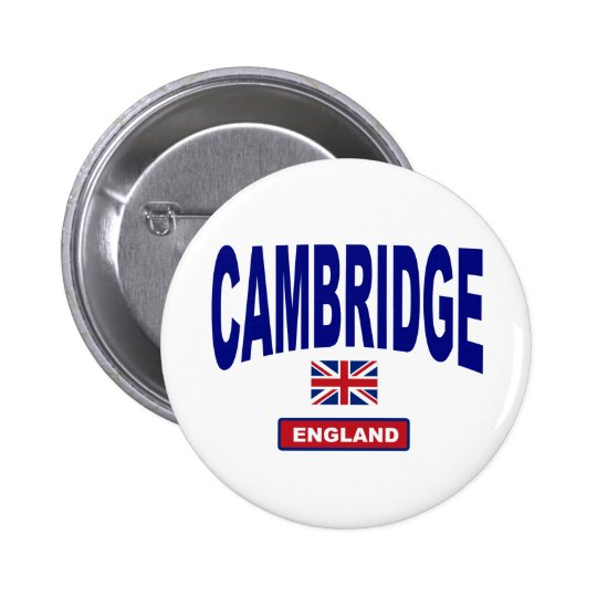Cambridge England Pinback Button