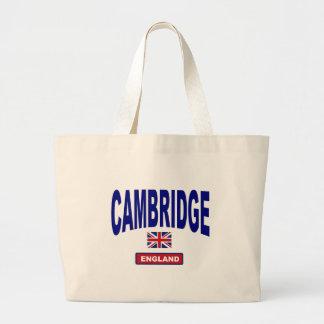 Cambridge Inglaterra Bolsa Tela Grande