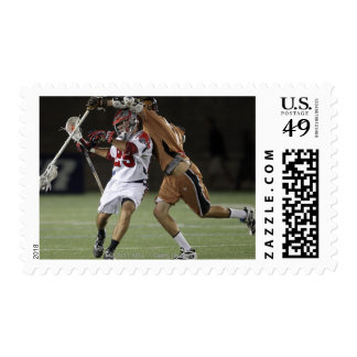 CAMBRIDGE, MA - AUGUST 13:  J.J. Morrissey #29 3 Stamp