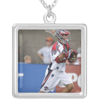 CAMBRIDGE, MA - AUGUST 13: J.J Morrissey #29 Silver Plated Necklace