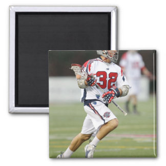 CAMBRIDGE, MA - AUGUST 13:  Jon Hayes #32 2 Inch Square Magnet