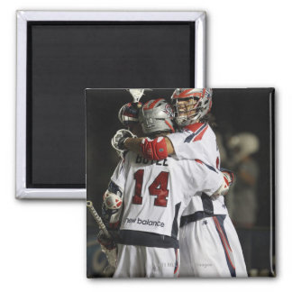 CAMBRIDGE, MA - AUGUST 13:  Paul Rabil #11 and Magnet