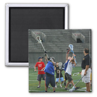 CAMBRIDGE, MA - JULY 08:  Major League Lacrosse 2 Fridge Magnet