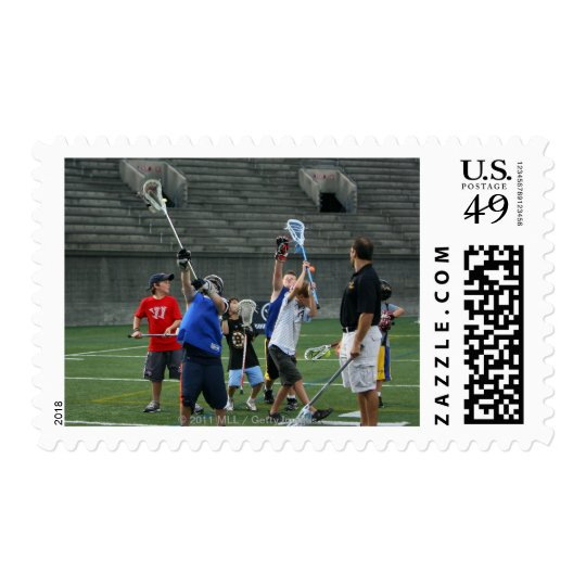 CAMBRIDGE, MA - JULY 08:  Major League Lacrosse 2 Postage