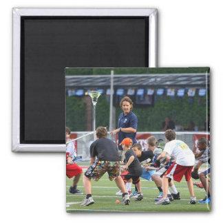 CAMBRIDGE, MA - JULY 08:  Major League Lacrosse Fridge Magnets