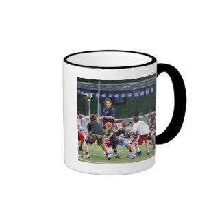 CAMBRIDGE, MA - JULY 08:  Major League Lacrosse Mug