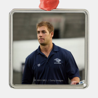 CAMBRIDGE, MA - JULY 08:  MLL All-Star Ben Hunt Metal Ornament