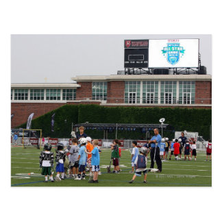 CAMBRIDGE MA - JULY 8 Atmosphere at the MLL Postcards