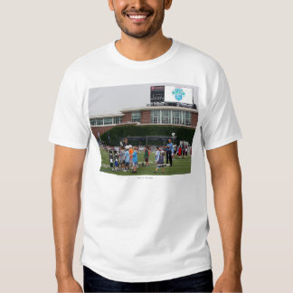 CAMBRIDGE, MA - JULY 8:  Atmosphere at the MLL T Shirt