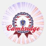 Cambridge, MA Stickers