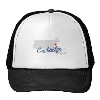 Cambridge Massachusetts MA Shirt Trucker Hat