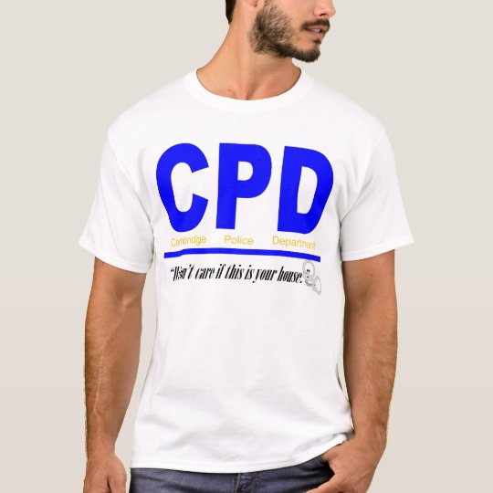 Cambridge Police Department T-Shirt