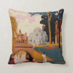 Cambridge retro travel pillow