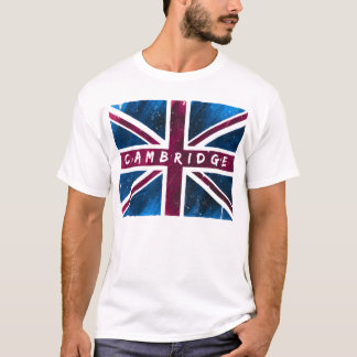 Cambridge - United Kingdom Union Jack Flag T-Shirt