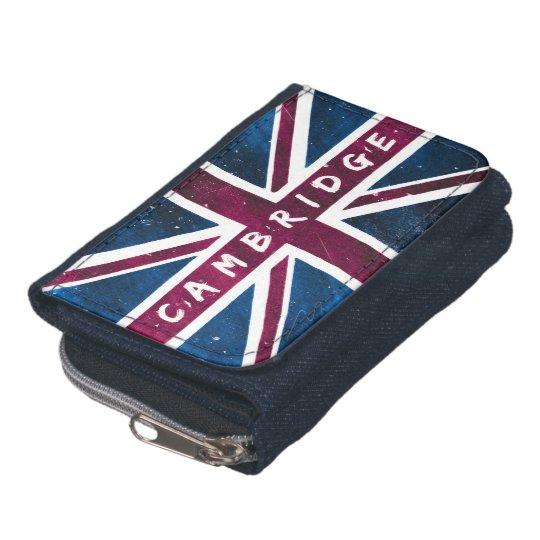 Cambridge - Vintage United Kingdom Union Jack Flag Wallet
