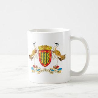 Cambridgeshire Coat of Arms Classic White Coffee Mug