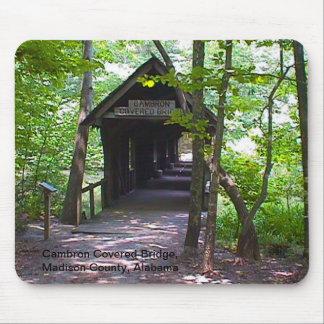 Cambron Covered Bridge, Madison County, Alabama Mouse Pad