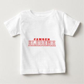 Camden, Alabama City Design Baby T-Shirt