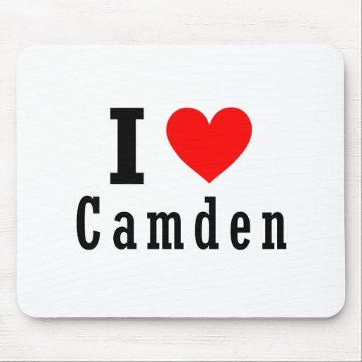 Camden, Alabama City Design Mouse Pad