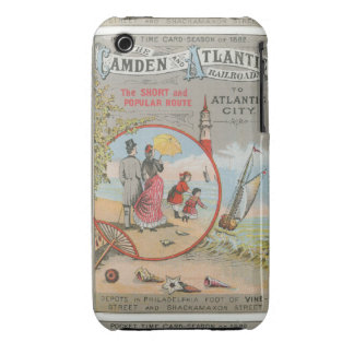 Camden and Atlantic Railroad iPhone 3 Case