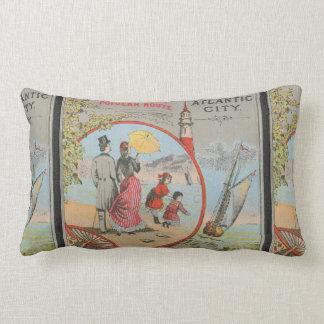 Camden and Atlantic Railroad Lumbar Pillow