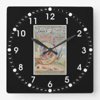 Camden and Atlantic Railroad Wall Clock