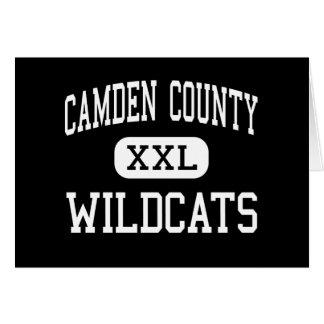 Camden County - Wildcats - High - Kingsland Greeting Card