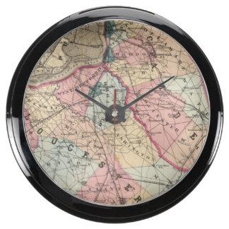 Camden, Gloucester counties, NJ Fish Tank Clock