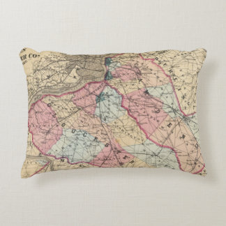 Camden, Gloucester counties, NJ Accent Pillow