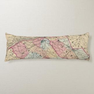Camden, Gloucester counties, NJ Body Pillow