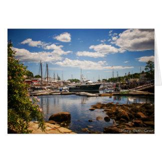Camden Harbor Maine Card