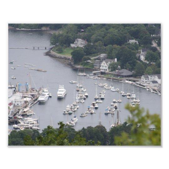 Camden Harbor Photo Print