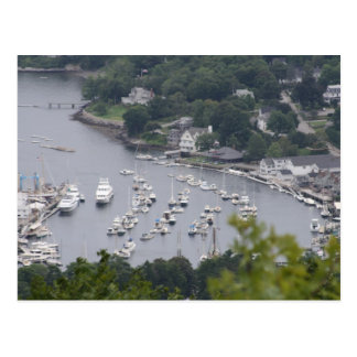 Camden Harbor Postcard