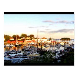 Camden Harbor-tiltshift Postcard