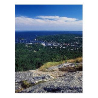 Camden Hills State Park Mount Battie View Postcard