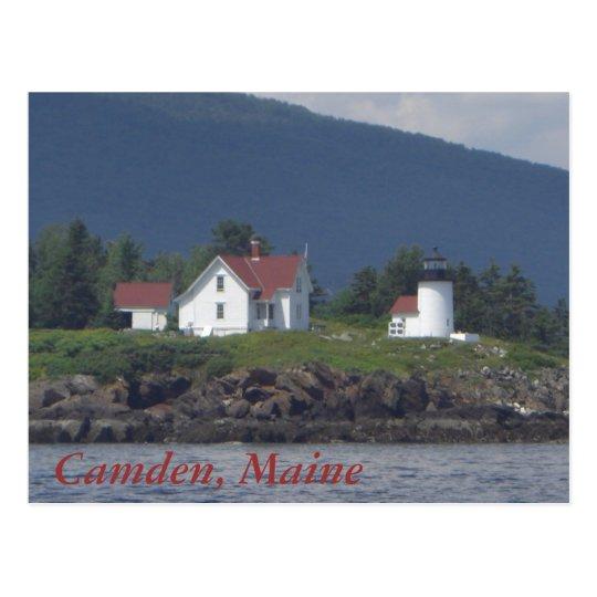 Camden, Maine Postcard