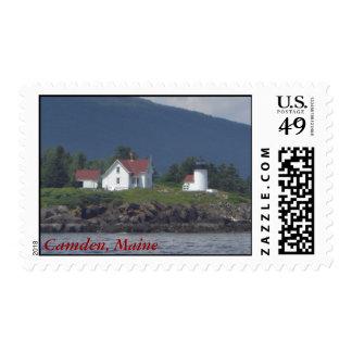 Camden, Maine stamp