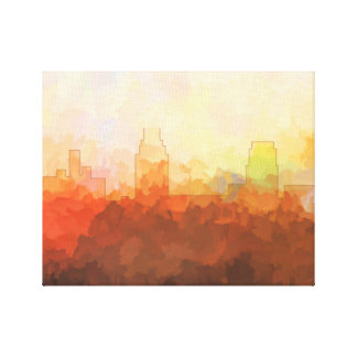 CAMDEN, NEW JERSEY SKYLINE In the Clouds Canvas
