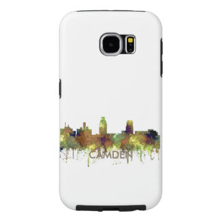 Camden New Jersey Skyline SG Safari Buff Samsung Galaxy S6 Case