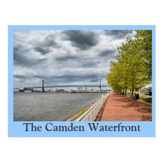 Camden Waterfront Postcard